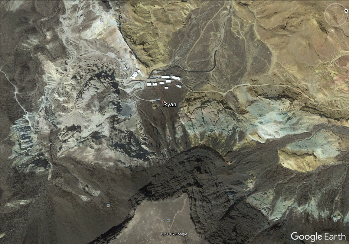 The view from Google Earth.